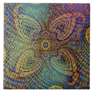 Paisley  Decorative  Tile