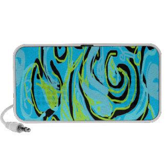 Paisley Design custom portable speaker