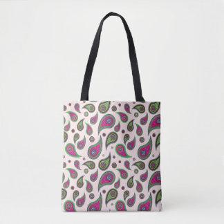 Paisley Design Tote Bags