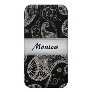 Paisley Dreams Personalized iPhone4 Case