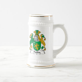 Paisley Family Crest Beer Stein