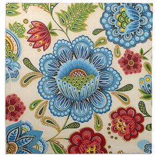 Paisley Fine Vintage Floral Indian Pattern Napkin