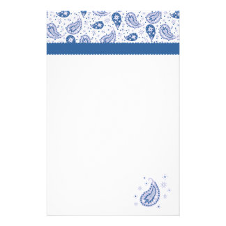 Paisley Frost Stationery Paper