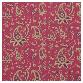 Paisley gold, Fabric