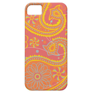 Paisley in Cayenne iPhone 5 Cover