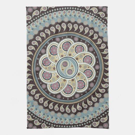 Paisley Mandala Kitchen Towels