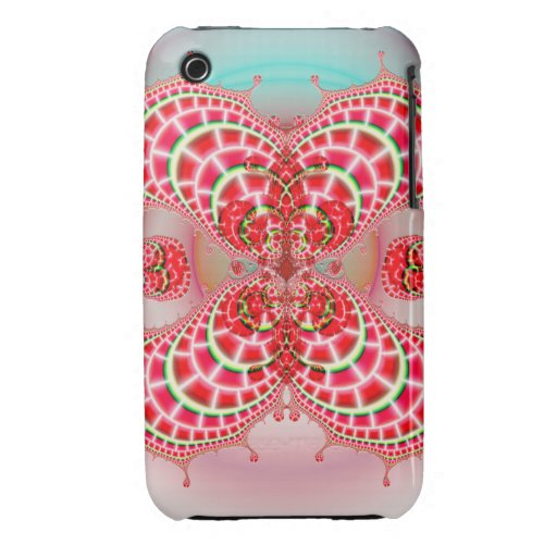 Paisley Melons Merging iPhone 3 Case-Mate Cases