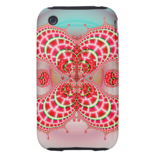 Paisley Melons Merging Tough iPhone 3 Case