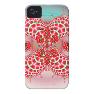 Paisley Melons Merging CM BT iPhone 4 Case
