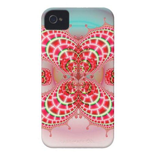 Paisley Melons Merging  CM BT iPhone 4 Case