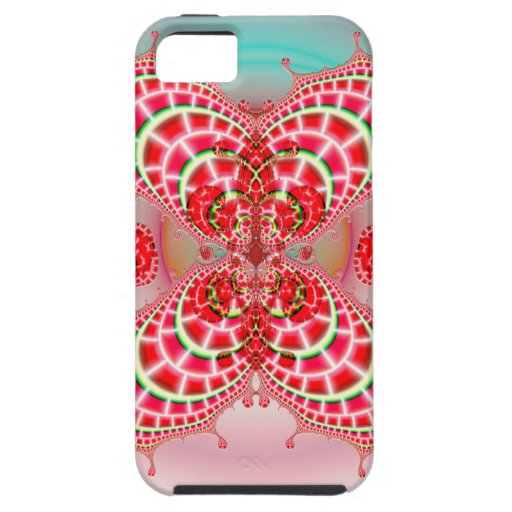 Paisley Melons Merging CM Vibe iPhone 5/5S Case