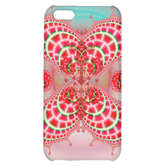 Paisley Melons Merging Savvy Matte iPhone 5C Case
