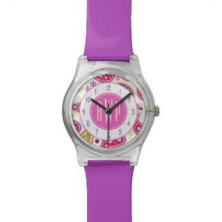 Paisley Monogram Watch