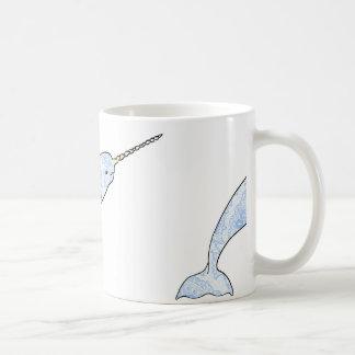 Paisley Narwhal Mug