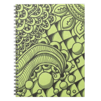 Paisley Notebook (80 Pages B&W)