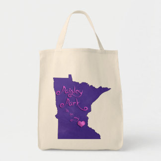 Paisley Park is in my heart Tote Bag