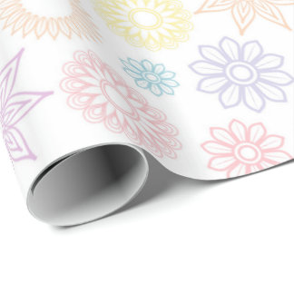 Paisley Pastels Wrapping Paper