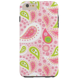 Paisley pattern iPhone 6 plus tough case