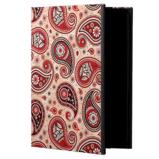 Paisley pattern maroon red beige elegant powis iPad air 2 case