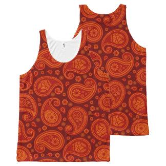 Paisley pattern maroon red elegant