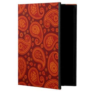 Paisley pattern maroon red elegant powis iPad air 2 case