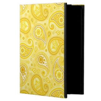 Paisley pattern yellow elegant powis iPad air 2 case