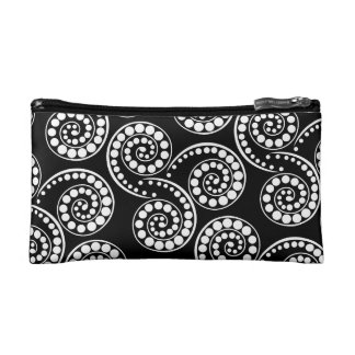 Paisley patterns evening retro modern cosmetic bags