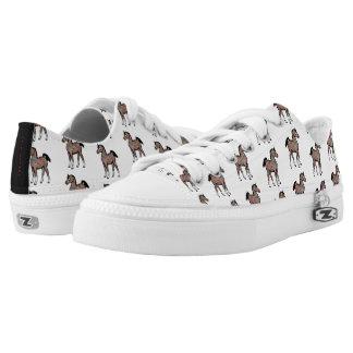 Paisley Pony low top sneakers