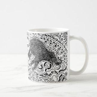 Paisley Power elephant mug