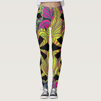Paisley Print Style Leggings