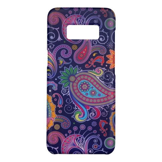 Paisley Purple pink Case-Mate Samsung Galaxy S8 Case