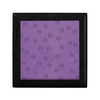 Paisley Purple Tears Keepsake Box