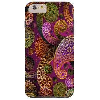 Paisley Purple Tough iPhone 6 Plus Case