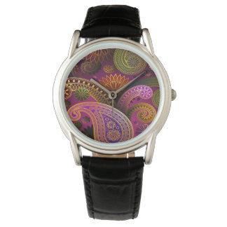 Paisley Purple Watch