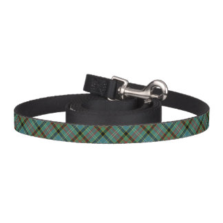 Paisley Scotland Tartan Colorful Plaid Pattern Pet Lead