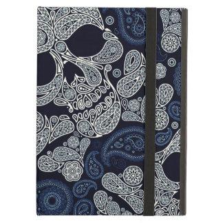 Paisley Skull Graphic Print iPad Air Cover
