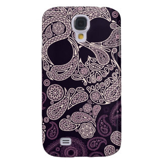 Paisley Skull Graphic Print (Purple)