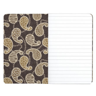 Paisley style background journal