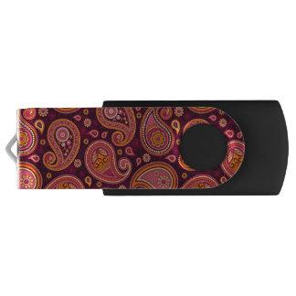 paisley USB flash drive