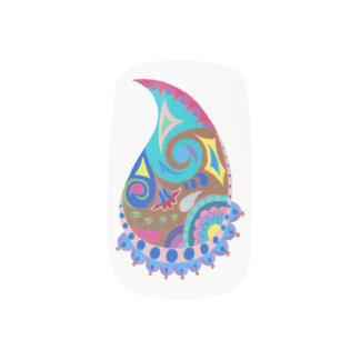 Paisley Whimsy Nail Decals