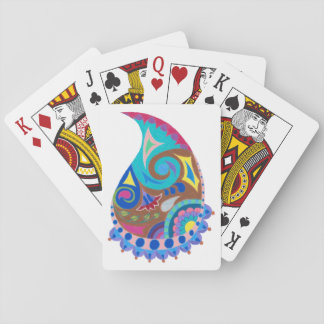 Paisley Whimsy Playing Cards