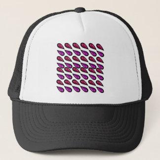 Paisleys Vintage design on white Trucker Hat