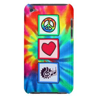 Paix, amour, musique coque iPod touch Case-Mate