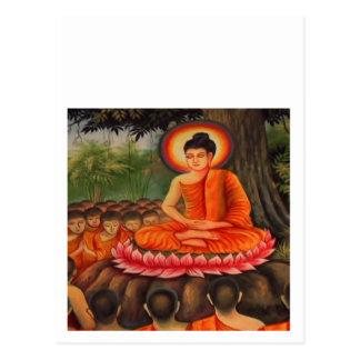 Paix   de bouddhisme de BOUDDHA Carte Postale