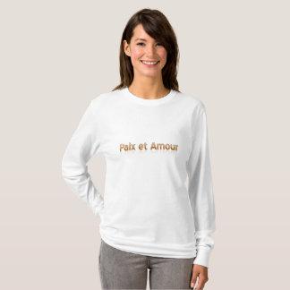 Paix et Amour Women's Basic Long Sleeve T-Shirt