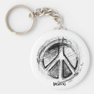 Paix Keychain Porte-clé
