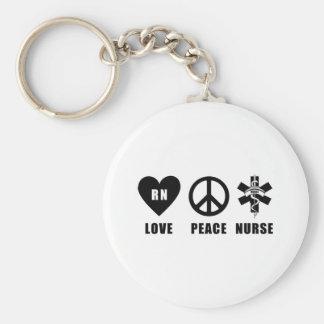 Paix RN d'amour Porte-clef