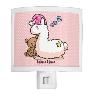 Pajama Llama Night Light