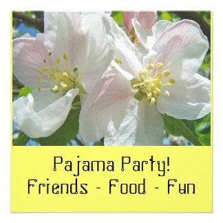 Pajama Party! Invitations Blossoms Sleepover Party