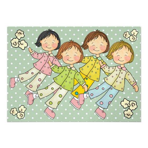 Pajama Party / Sleep Over - SRF Announcement